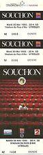 RARE / TICKET DE CONCERT - ALAIN SOUCHON A VITROLLES - 30 MAI 1995 / COMME NEUF