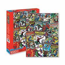 Marvel Spiderman Collage 1000 Piece Puzzle Jigsaw