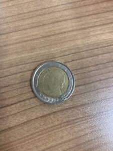 piece de 2 euros rare espagne