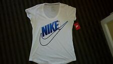 NIKE Women's Capped Sleeve Ribbed Crew Neck Oversized T,MSRP $30