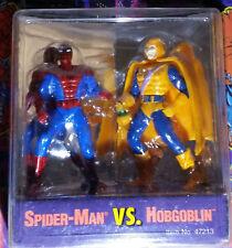 VINTAGE 1994 SPIDER-MAN vs HOBGOBLIN WEB OF STEEL 2.5in. DIE CAST BY TOY BIZ NIP