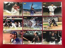 2016 Topps Stadium Club GOLD PARALLEL Lot of 39 Cards (See List & Pictures)