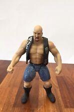 Stone Cold Steve Austin w Vest - WCW WWE ECW 1998 Jakks Titan Action Figure. EUC