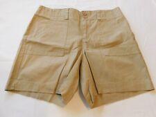 GH Bass & Company Shorts Size 12 Misses women's Wheatfield Khaki 0724 NWT