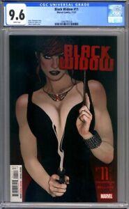 Black Widow #11  Adam Hughes Cover  Marvel Comics   1st Print CGC 9.6