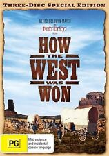 How The West Was Won (DVD, 2009 release, 3-Disc Set)