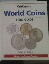 Warman's World Coins Field Guide Values and Identification  Sieber book pocket