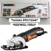WORX WX423 85 mm 400 W Classic Compact Multi Purpose Circular Saw Hand Held
