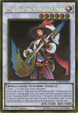 Virgil, Rock Star of the Burning Abyss Gold Rare Yugioh Card PGL3-EN061
