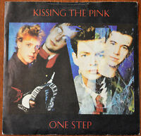 "Kissing The Pink ‎– One Step 7"" – KTP 8 – VG+"