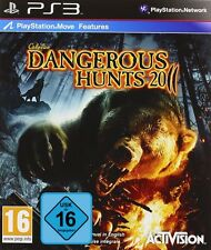 PS3 Cabela's Dangerous Hunts 2011 Move kompatibel Neu&OVP Playstation 3