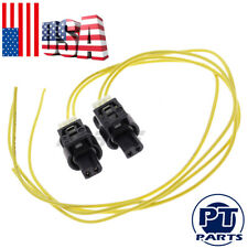 2*LED Light / Foglight Daytime Running Connector Pigtail For 08-19 Mercedes Benz