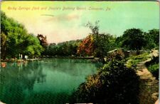 C42-8342, ROCKY SPRINGS PARK AND BATHING RESORT, LANSCASTER, PA., POSTCARD.