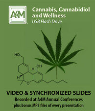 Cannabis, Cannabidiol and Wellness  - A4M conference recordings