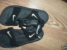 Nike Black Athletic Sandals Beach shoes size 3