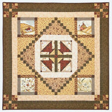 Red Rooster Weeds N' Tweeds Quilt Fabric Kit  ** LAST ONE **