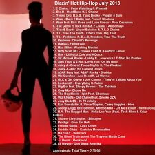 Promo Video Compilation DVD, Blazin Hot Hip Hop July 2013 FRESH NEW ONLY on EBAY