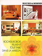 PUBLICITE  1971   ROCHE & BOBOIS  meubles