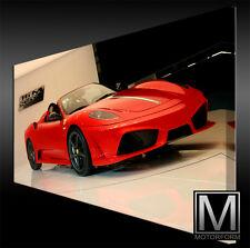 Ferrari 16M Scuderia Spider auf LEINWAND Bild Canvas ART Kunstdruck Leinwandbild