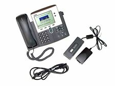 Cisco CP-7940G VoIP IP Office Phone w/ Ac Adapter (7940)