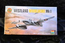 Airfix Westland Whirlwind Mk1 aircraft model Kit in 1/72 Scale Sealed