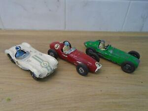 1950's Crescent racing cars x 3 Aston Martin, BRM and Maserati