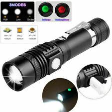 Super helle Taschenlampe LED 200000LM USB wiederaufladbare Shadowhawk Fackel DHL