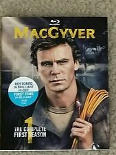 Macgyver Tv Series Complete First Season 1 Blu-Ray