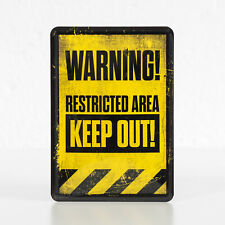 Gift Notice Gate Garden Keep Out Door Work Bold 446 Sign Plaque No Entry