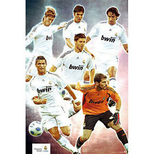 Real Madrid FC - All Stars POSTER 61x91cm NEW * Soccer Football Ronaldo Casillas
