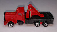 Vintage P366 ZEE Tow Truck American Truck Wrecker Red/Black Made in Hong Kong