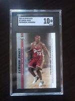 2003-04 UD Phenomenal Beginning #2 LeBron James RC Rookie SGC 10 GEM MINT Cavs