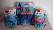2 Pack Sipsters Stage 1 Spill Leak Break Proof Soft Spout Sippy Cups        C