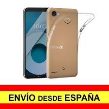 Funda Silicona para LG Q6 / Q6 ALPHA / PLUS Carcasa Transparente ¡España! a2854