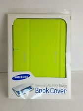 Genuine Samsung Book Cover Case For Galaxy Note 10.1 inch Lime