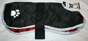 Zack & Zoey Noreaster Reversible Reflective Dog Blanket Jacket - Several Options