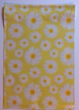 20 10 X 13 Yellow With White Daisys Poly Mailers