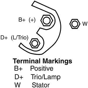 Remanufactured Alternator Remy 14491