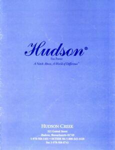 July 1998 Hudson Creek Pewter catalog & price lists Disney Harley-Davidson