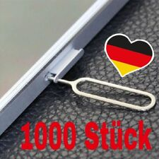 1000 x SIM PIN SIM tarjeta bandeja pin abridor eyector iPhone Apple iPad Samsung HTC