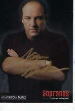 "JAMES GANDOLFINI HAND SIGNED 2005 ""SOPRANOS"" #22 - TONY SOPRANO"