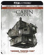CABIN IN THE WOODS  (4K ULTRA HD) - Blu Ray -  Region free