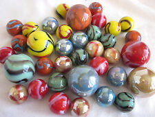 36 Glass Marbles 2016 COLLECTOR SET Limited Edition FIRST RUN Players/Shooter