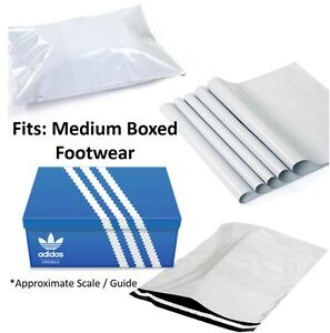 Size 15 x 19 ( 380 x 480 mm) White Mailing Bags Quality Smooth White Poly Postal