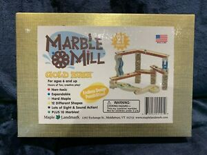 Marble Mill Gold Rush Playset 21 pieces Ages 6+ Brand NEW Sealed