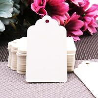 100pcs Paper Tags Christmas Wedding Party Gift Cards Labels Table Decoration