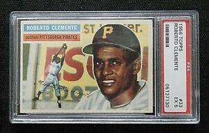 1956 Topps #33 Roberto Bob Clemente PSA 5 EX #05127230 Pittsburgh Pirates HOF