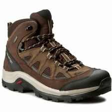 Salomon Authentic Leather GTX Mens Brown Waterproof Trail Hiking Boots 394668