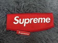 new Supreme Streetwear Hypebeast  Red Fleece Headband