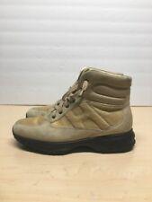 HOGAN INTERACTIVE Mens Beige Tan Suede  Walking boot Size EUR 40 USA 7